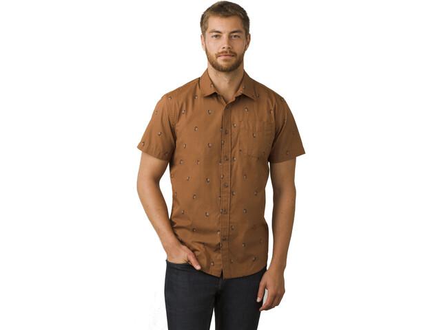 Prana Broderick SS Shirt Men tree bark